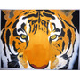 Tigre Pintura Al Oleo Sobre Lienzo