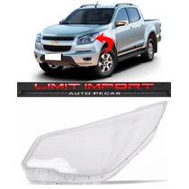 Lente Farol Chevrolet S10 Esquerdo Ano 2012 2013 2014 2015