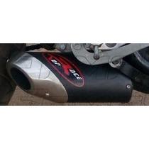 Escapamento Esportivo Top Race Twister Fazer Cb 300 Curto