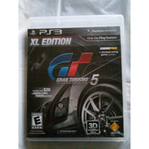 Gran Turismo 5 Xl Edition Ps3 Playstation 3 Trqs Autos