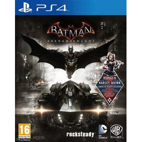 Batman Arkham Knight Ps4 Juego Fìsico Sellado Con Factura