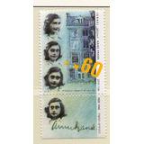 Israel 1988 Sc#985 Ana Frank New-og-tab-nh