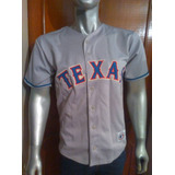 Camisa Gris- Marca Trt- Andres Galarraga- Texas Rangers