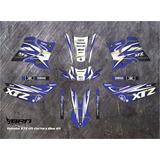 Kit De Calcos Ploteo Yamaha Xtz 125 Brn Diseño