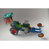 Juguete Antiguo Tmnt Vehiculo Tortugas Ninja Dragster Carro