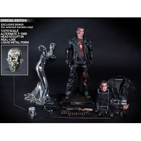 Hot Toys Dx13 Terminator 2 T-800 Battle Damage Special Editi