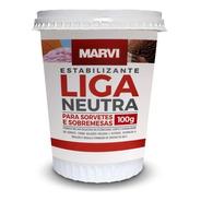 Liga Neutra Estabilizante Para Sorvete/sobremesas Marvi 100g