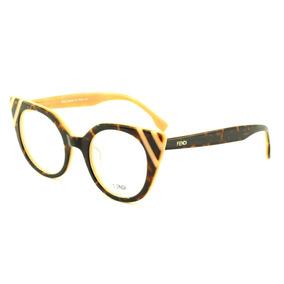 a2bebadfa4c4b Armação Oculos Grau Feminino F46 Importado Acetato Original