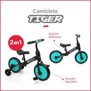 Bicicleta Camicleta R12 Balanceo Asiento Regulable Rueditas