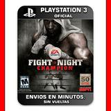 Fight Night Champion Ps3 : Digital : Oferta Elegi Reputacion