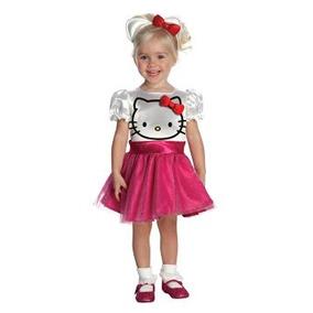 Disfraz Para Niña Hello Kitty Del Vestido Del Tutú De Vestu