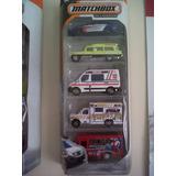 Kit Matchbox 5 Ambulancias A Escala