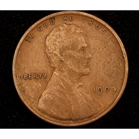 Lincoln Penny 1 Cent 1909 Vdb Fecha Clave Lot 2 Usa