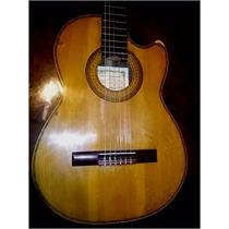 Guitarra Antigua Casa Nuñez Firma Dionisio Gracia Media Caja