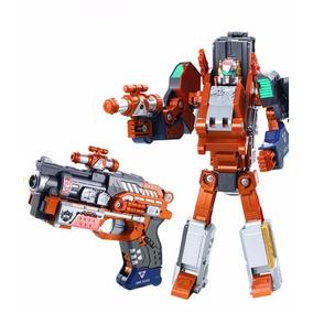 Robot Galaxy Warrior Wolf Gun Transformable Metal Wabro Tv