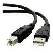 Cable Usb A/b Para Interface De Audio Controlador Midi