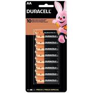 16 Pilhas Duracell Duralock Alcalina Aa Embalagem C/16 Unids