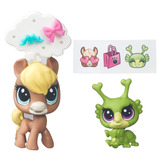 Littlest Pet Shop - Chevallie Tanwood & Breeley Buggles B774