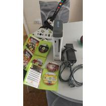 Xbox 360 Arcade Seminuevo, Guitarra Y Bateria