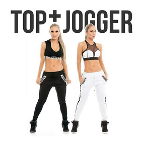 Ropa Deportiva Fiber Jogger + Top Cómodo Ajuste Perfecto