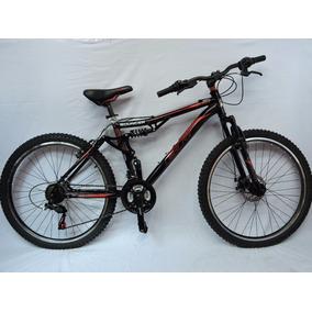 Bicicleta Br Bouncer R-26 Doble Susp 21 Vel. Shimano