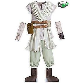 Disfraz Disney Star Wars Rey Color Arena Talla5/6 Y 7/8 Años