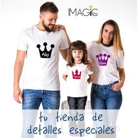 Trio De Franelas Mama, Papa E Hijo