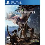 Monster Hunter World Ps4 Digital Gcp