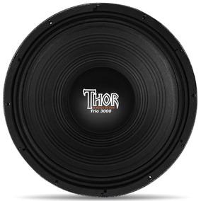 Woofer Thor Th15 Mg3000 15 Polegadas 1500w Watts Rms 4 Ohms