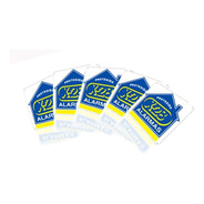 Cartel X28 Alarmas Pack 5
