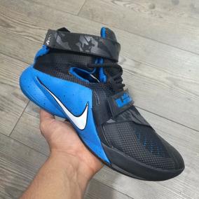 Botas Nike Lebron James Azul Hombre 2017 Envio Gratis