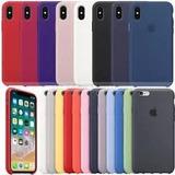 Kit 3- Capa Apple Iphone 5 6 6s 7 8 Plus X 10 Original