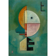 Poster Wassily Kandinsky 60x90cm Foto Decoração Obra Upward