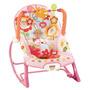 Cadeira De Descanso Balanço Fisher Price Rosa Pronta Entrega