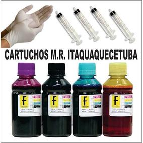 500ml Kit Tinta Recarga Cartuchos 670 3525 4615 4625 5525 01