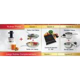Extractora Nutrex Press Rena Ware + Opcion