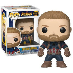 Funko Pop - Capitán América Avengers Infinity War