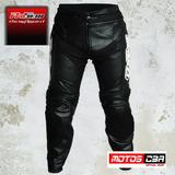Pantalon Moto Cuero Proskin Racing Motoscba E
