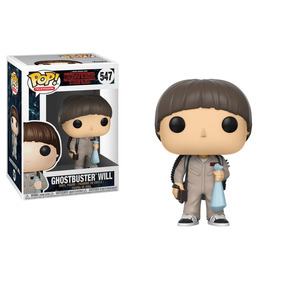 Figura Coleccionable Funko Stranger Things Ghostbuster Will
