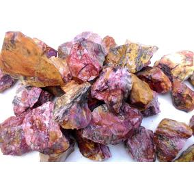 Pedra Jaspe Colorido Variado 1kg + Brinde Frete Grátis