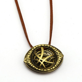 Colar Olho De Agamotto Doutor Estranho - Bronze