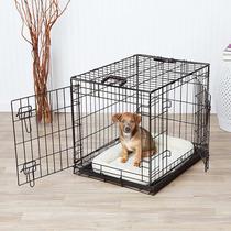 Jaula Para Perro Pequeña 61x48x46 Cm 2 Puertas *envío Gratis