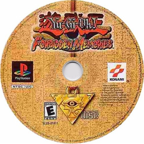 Yu-gi-oh! Forbidden Memories Patch Ps1 Cds Impressos