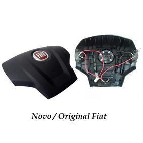 Acionador Buzina Cobertura P/ Volante Fiat Idea Original