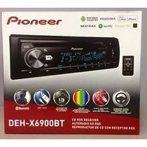 Autoestereo Pioneer Deh-x6900bt Bluetooh Usb Aux Mp3 Cd