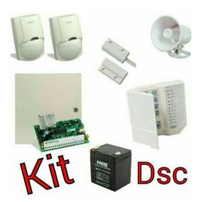 Kit De Alarma Dsc Con Central Pc1404