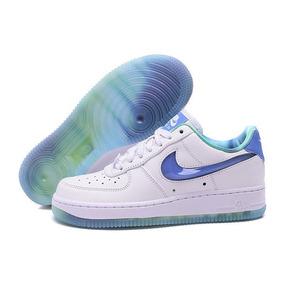 Zapatillas De Mujer Nike Air Force 1 Blancas Pipa 3d En Caja