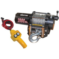 Winch - Malacate Elcectrico De 907 Kgs Calidad Industrial