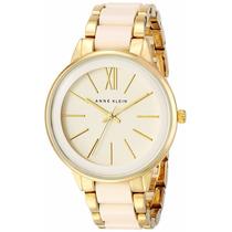 Reloj Anne Klein Para Dama Ak1412ivgb Dorado Envío Gratis