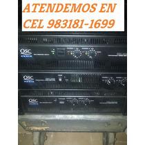 Qsc Rmx 2450 / 4050 / 5050 Amplificador Seminuevo Op2